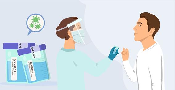 PCR pela saliva